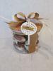 Afbeeldingen van Voorraadpot bamboe deksel - gevuld ca300g - 19.65€